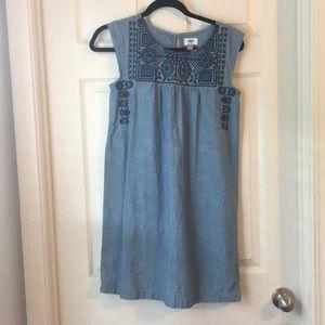 Blue Old Navy Sleeveless Dress